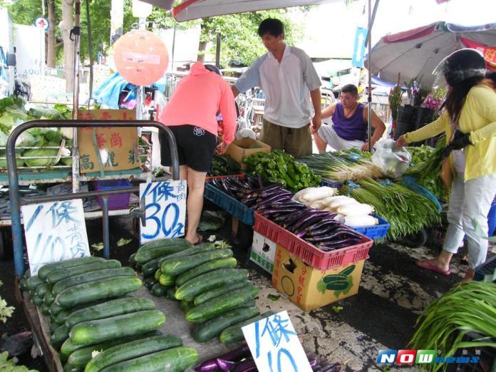 尼莎颱風輕掃台灣 蔬菜產區幾無受損