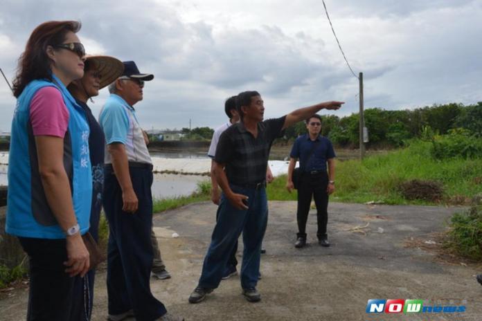 雲林縣長關心水利設施狀況  籲請鄉親做好<b>防颱準備</b>