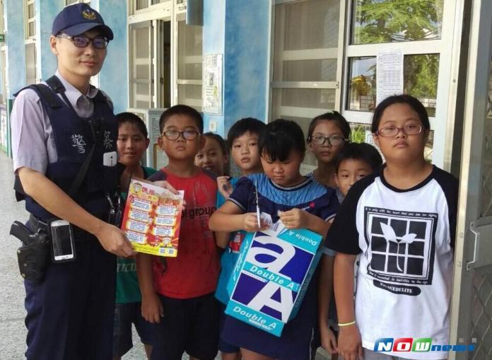 暑假烏克麗麗育樂營 北港警宣導犯罪預防