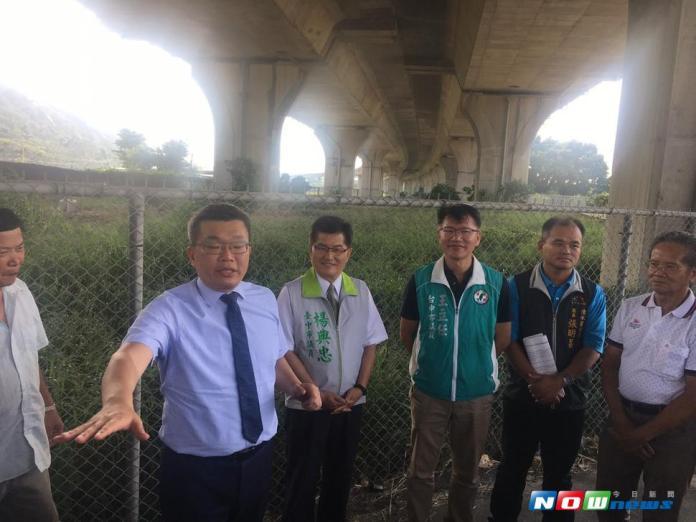 蔡其昌會勘清水運動場 鼓勵民眾走出戶外