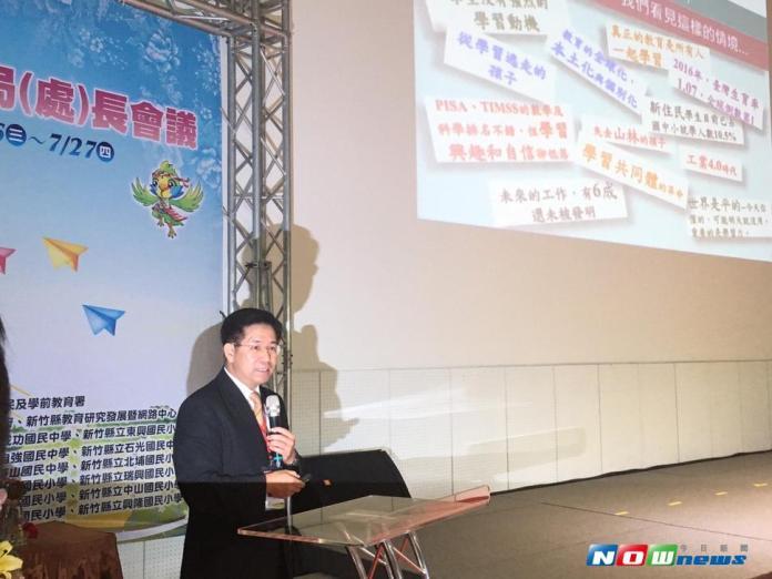 潘文忠談國民教育實踐 台灣學生都「同進同出」
