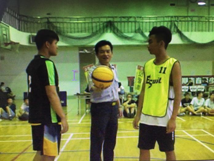 歸仁分局舉辦「第七屆暑期青春盃─少年3對3籃球賽」活動。(圖/歸仁分局提供,2017.07.23)
