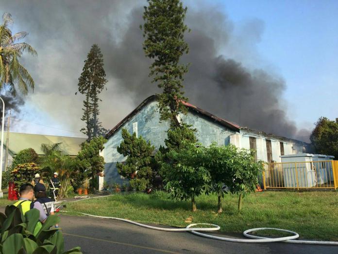 高雄205兵工廠庫房失火 軍方還原案發狀況