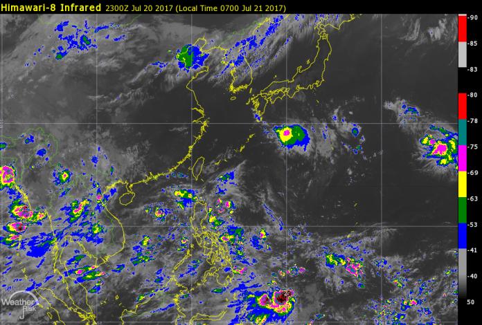 彭啟明預估,下周生成的颱風近台機率較高。(圖/翻攝自氣象達人彭啟明臉書)