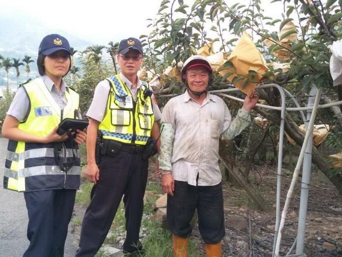 和平警分局執行「護農專案」,加強查緝及遏止農產品竊盜案件,確保農民一季辛勤耕作的成果。〈圖/和平警分局提供〉