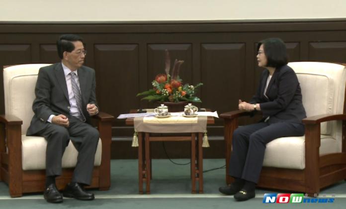 強調中小企業競爭力 蔡英文接見APEC企業代表