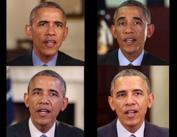 ▲雖然網路上已經有很多美國前總統歐巴馬的惡搞剪接影片,但這個科技肯定可以讓它變得更多……(圖/轉載自華盛頓大學研究人員YouTube頻道)
