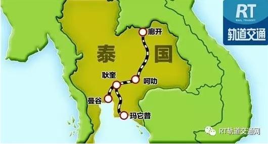 泰國內閣批准泰中鐵路曼谷-呵叻段
