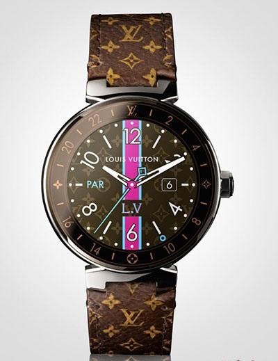 奢侈品牌也搞IT!LV出智慧手錶