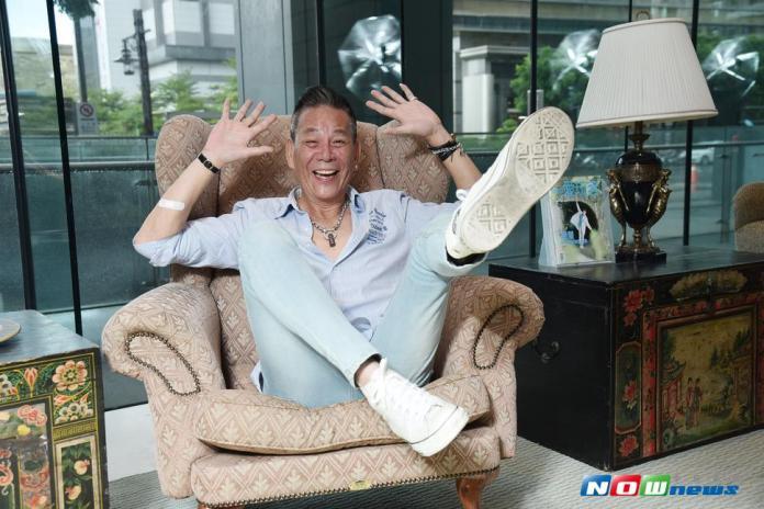 龍劭華專訪。(圖/記者林柏年攝,2017.7.4)