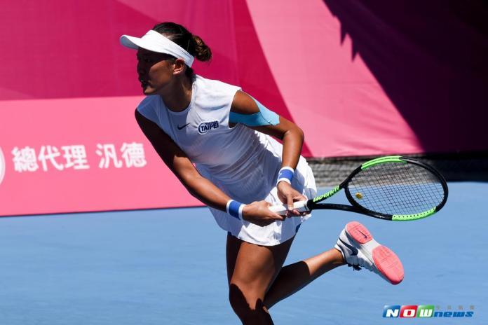 圖輯》世大運/網球女單張凱貞不敵泰國 衛冕失利