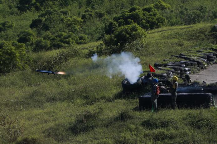 三軍聯訓基地是國軍主要實彈射擊場地。(圖/軍聞社提供 , 2017.7.27)