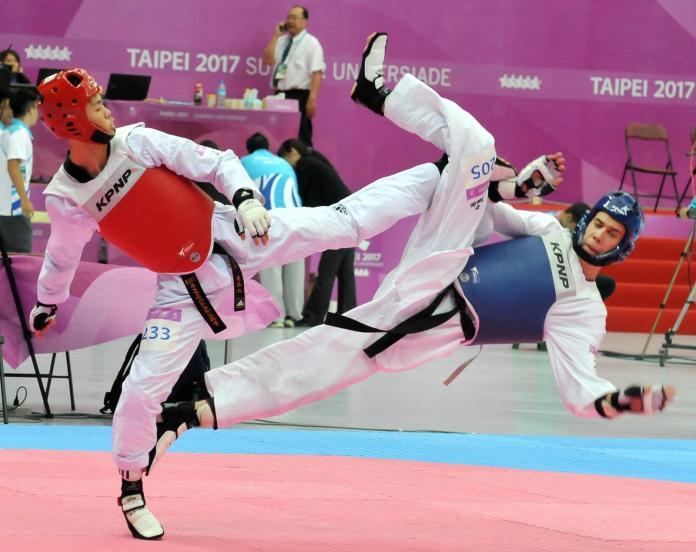 ▲男子跆拳道68公斤級中華隊黃鈺仁。(圖/本報資料照)