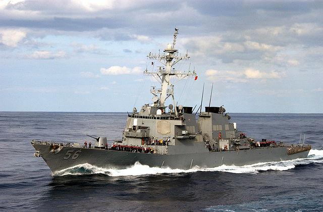 ▲美國海軍馬侃號驅逐艦。(圖/美國海軍官網)
