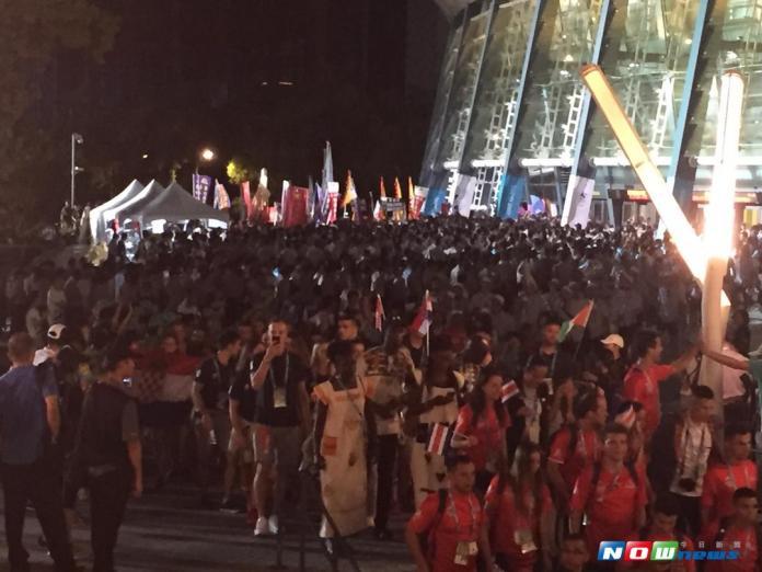 林全:世大運管制區陳情抗議 鐵腕強力排除
