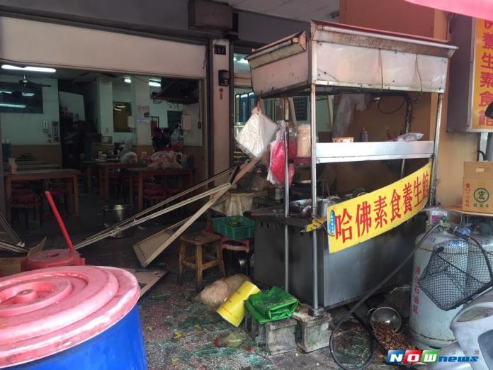 又傳氣爆!中市素食餐廳更換瓦斯不慎 5民眾受傷