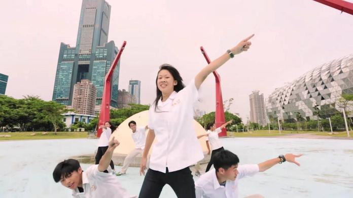 學生MV熱舞 舞動城市之美