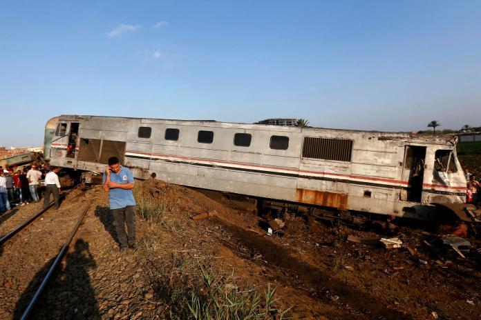 埃及亞力山卓火車相撞 死亡人數增至43人