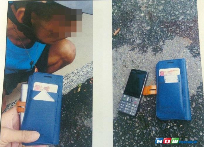 手機皮套藏毒 白色粉末遭警視破被逮