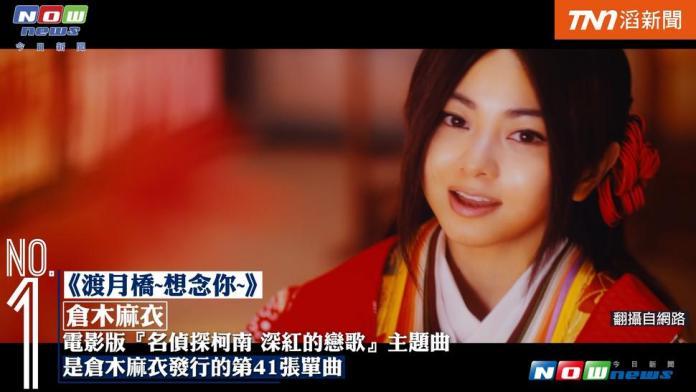 日歌周榜主題曲大戰 「柯南」大勝「寶可夢」