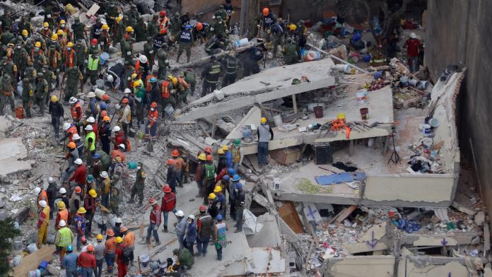 墨西哥強震225死 <b>台僑</b>王家妤獲救