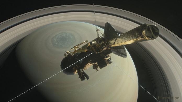 結束20年任務 卡西尼號撞<b>土星</b>自毀