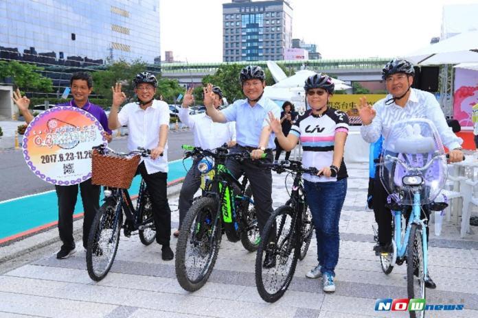 台中自行車嘉年華 林佳龍:打造自行車友善環境