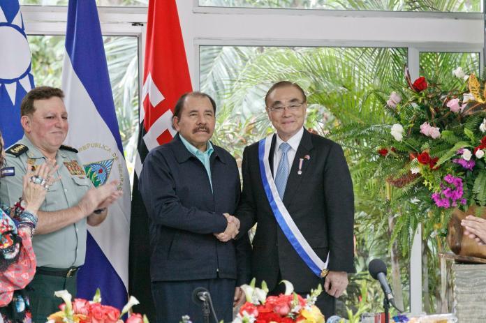 台援助尼加拉瓜1億美金 前外交官憂奧蒂嘉用來鎮壓人民