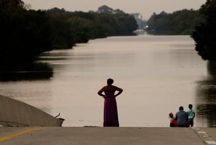 ▲颶風哈維(Harvey)為美國德州帶來洪災,造成50多人死亡、100萬人流離失所,但是僅台灣願意伸出援助。(圖/達志影像/美聯社 )