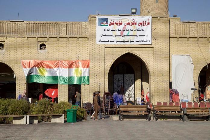 ▲伊拉克的庫德族半自治區計畫在25日舉行獨立公投,但是遭到伊拉克政府與聯合國反對。(圖/達志影像/美聯社)