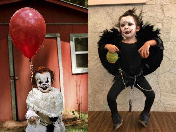 萬聖節扮什麼最潮?這8個小朋友裝扮超萌超嚇人