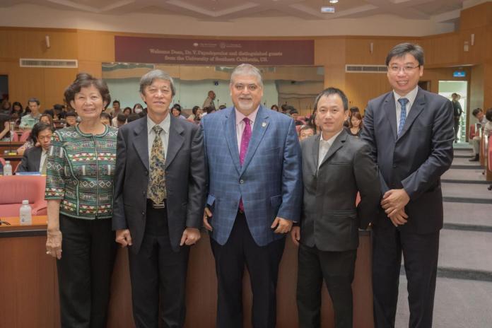 美國南加大藥學院來訪 與嘉南藥理深化國際合作