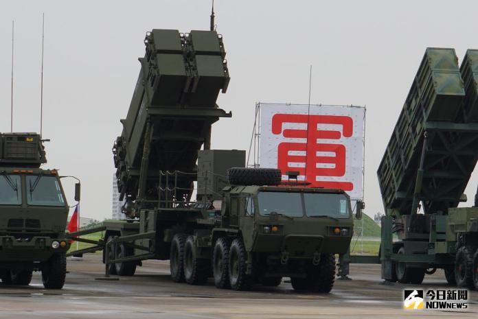 ▲2017年9月1日,空軍防空暨飛彈指揮部在台南空軍基地舉行成軍典禮,愛國者三型飛彈部隊接受校閱。(圖/記者呂炯昌攝 )