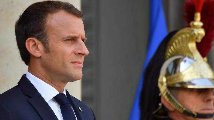 ▲法國總統馬克宏17日將就制定解決貧困問題的新政策開始和各方商談。(圖/達志影像/美聯社)