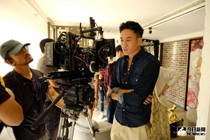 ▲何潤東身兼導演、製作人、編劇及演員趕拍新戲《翻牆的記憶》。(圖/ TVBS提供,2017.10.17)