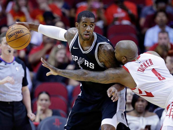NBA/趕不上復賽 馬刺<b>禁區</b>悍將艾崔吉肩傷整季報銷