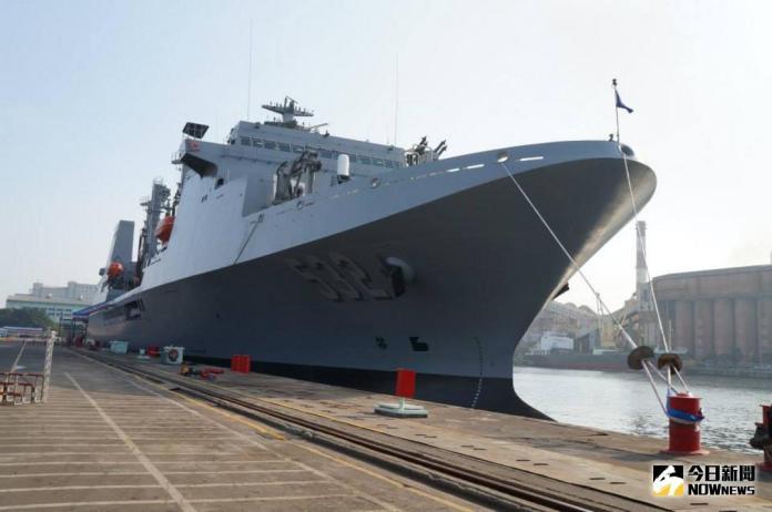 ▲海軍磐石艦 。(資料圖/記者呂烱昌攝影)