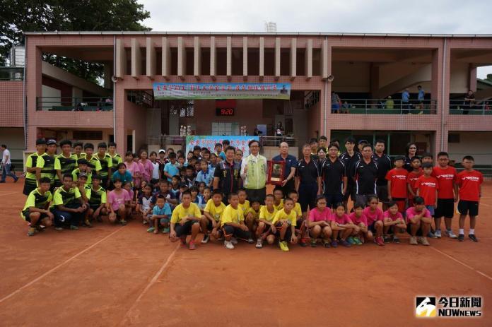 「彰化大佛金像獎」<b>軟式網球</b>錦標賽 熱力開打