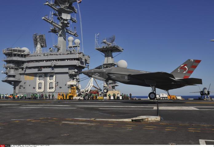 ▲美國派出尼米茲號核動力航空母艦,部署西太平洋地區。(圖/達志影像/美聯社)