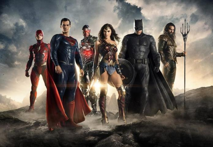 ▲電影《正義聯盟》集結多名超級英雄。(圖/翻攝自臉書)