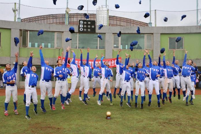 ▲2017年高中軟式棒球全國賽冠軍中華中學。(圖/大會提供)