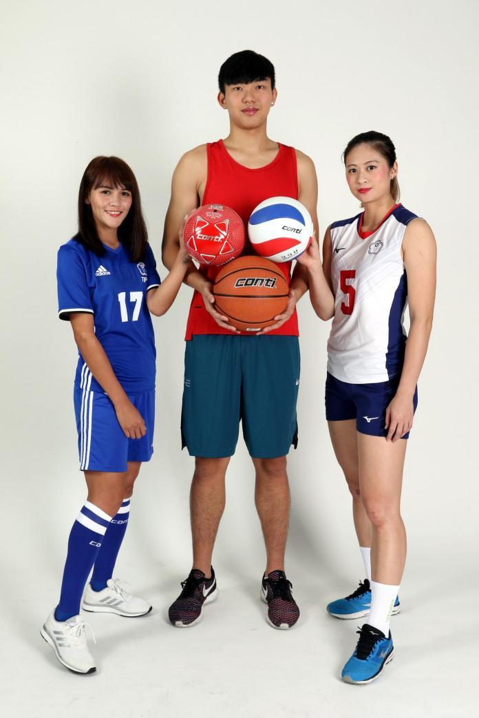 綜合/籃、排、足球明星擔任公益大使 送新球給偏鄉孩童
