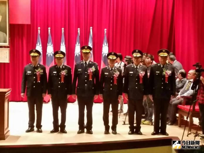 中市警察局卸新任分局長<b>布達</b> 林佳龍主持典禮