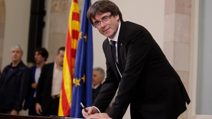 12月加泰隆尼亞國會重選 西表示歡迎普伊格蒙特參選