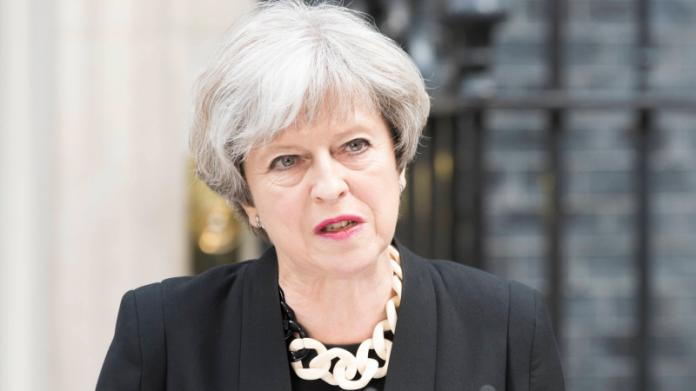 ▲英國大選登場,首相梅伊所屬保守黨選情攸關未來脫歐談判進展。(圖/達志影像/美聯社)