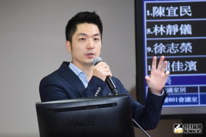 ▲國民黨立委蔣萬安。(圖/記者陳明安攝,2017.10.19)