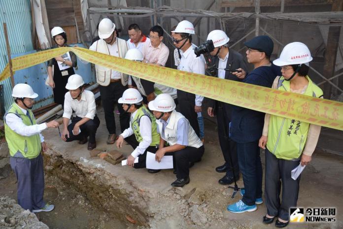 重修東門派出所歷史建築 疑掘出古城遺跡