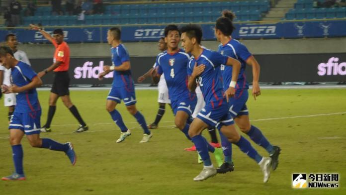 足球/溫智豪輕鬆起腳 中華隊上半場1:0領先<b>東帝汶</b>
