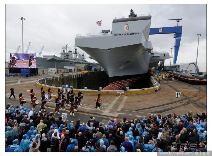 ▲英國伊莉莎白女王號航艦。(圖/達志影像)