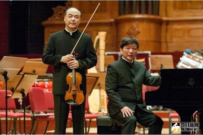 ▲「魅力二人組」由小提琴家麥韻篁及鋼琴家卓甫見組成。(圖/記者郭政隆翻攝)